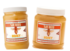 Pure, raw honey.